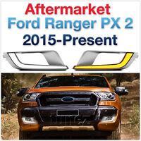 COB Rectangular Ford Ranger MK2 T6 Wildtrak 2015-18 LED DRL Daylight Fog Lamp AT
