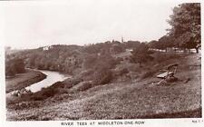 River Tees Middleton One Row unused RP old pc G Prudhoe