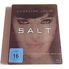 Salt Blu Ray Steelbook [Germany] Limited Edition! Region Free! New & Sealed!