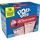 NEW Pop Tarts Toaster Pastries Frosted Red Velvet Cupcake 16 Count Free Shipping