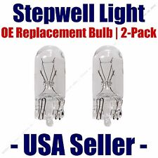 Stepwell Bulb 2pk OE Replacement Fits - Listed Mercedes-Benz Vehicles - 2825