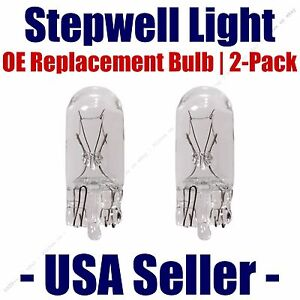 Stepwell Bulb 2pk OE Replacement Fits - Listed Rolls-Royce Vehicles - 2825