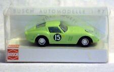 """Busch 42614: Ferrari GTO 250 """"Racing VI"""", Fertigmodell in H0 - NEU & OVP"""