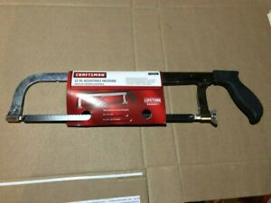 NEW Craftsman 12 Inch Adjustable Hacksaw Saw 49051