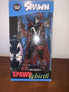 """Color Tops McFarlane Toys: Spawn Rebirth #10 7"""" Action Figure New"""