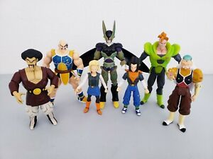 Lot Of 7 Irwin 2000's Dragon Ball Z Loose Action Figures