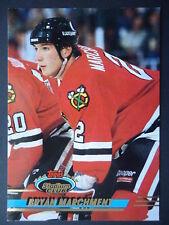 NHL 161 Bryan Marchment Chicago Blackhawks Stadium Club 1993/94