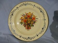 Lenox Colonial Bouquet 4 Collector Plates Covering 4-Yrs