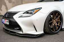 FOR 2015+ LEXUS RC200t RC350 F-SPORT BUMPER USE CARBON FRONT LIP SPOILER A STYLE