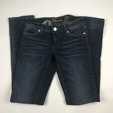 Seven 7 Womens Sz 27 Slim Straight Denim Jeans