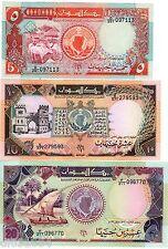 LOT SET SERIE 3 Billets AFRIQUE DU NORD // NORTH AFRICA  1991 NEUF UNC