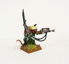 Warhammer Fantasy Ejercito Skaven Warlock Engineer bien pintados y en base