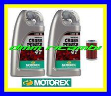 Kit Tagliando KTM 390 DUKE 13>14 Filtri Olio MOTOREX Cross Power 10W60 2013 2014