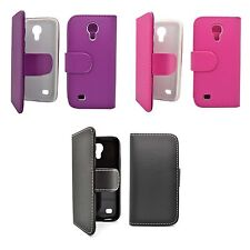 Case For Samsung Galaxy S4 Mini Wallet Flip PU Leather Stand Card Slot Cover