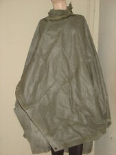 U.S.ARMY :  WWII GREEN MULTIPURPOSE PONCHO,TENT OR  SHELTER  WWII MILITARIA