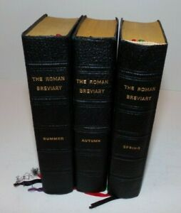 The Roman Breviary English Translation Stanbrook Abbey 1937