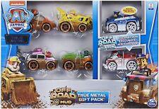 PAW PATROL 6058351 True Metal Gift Pack of 6 Die-Cast Vehicles Offroad/Mud 1:55