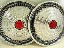 "1970-72 PONTIAC HUBCAPS 15"" WHEEL COVERS PAIR"