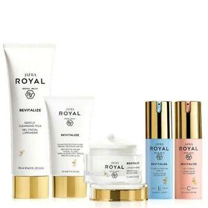 Jafra Royal Jelly Revitalize with Creme Set 5 Pcs New & Sealed