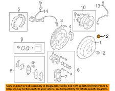 SUBARU OEM 00-16 Outback-Axle Nut 902170049