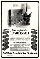 1902 ad Globe Wernicke Elastic Cabinet Baseball Player photo Korona Cameras