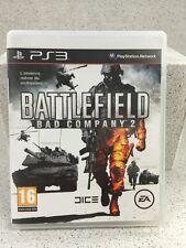 BATTLEFIELD BAD COMPANY2. JEUX PS3 AVEC NOTICE PLAYSTATION
