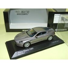 ASTON MARTIN DB9 2003 Gris Oyster Silver MINICHAMPS 1:43