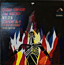 NEILSEN: Symphony No. 4/Helios Overture-NM1967LP MARTINON/CHICAGO SYMPHONY