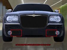 05-10 Chrysler 300/300C Black Stainless Steel Mesh Grille Bumper Insert Fedar