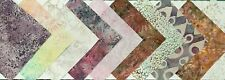 "CHARM SQUARES PACK - Morning Mist Fabric Charm Pack - 10pcs 5"" Squares"