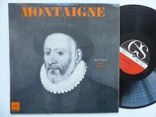 MONTAIGNE Jean TOPART   Encyclopédie  sonore 320E933