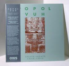 POPOL VUH Agape-Agape / Love-Love VINYL LP Sealed BONUS TRACK Florian Fricke