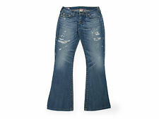 TRUE RELIGION Jeans Hose Bootcut Denim Gr.28 Destroyed Look Lässig TOP