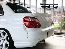 RPG Fiberglass Trunk Wing Spoiler for 02-07 Subaru Impreza WRX STi GDA GDB GDF