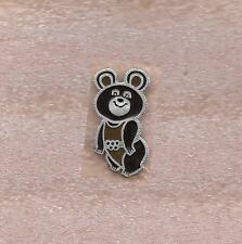 MOSCOW 1980 SUMMER OLYMPIC GAMES OFFICIAL PIN MISHA BEAR MASCOT