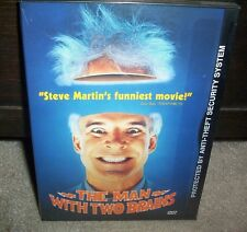 The Man With Two Brains Steve Martin Kathleen Turner Factory Sealed DVD