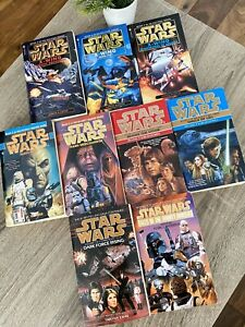 STAR WARS BOOK LOT PAPERBACK