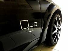 Kit Stickers Damier Trophy porte Megane RS /Clio/Twingo Renault Sport X2