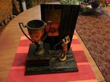 Antique Golf Trophy 1956 of JR Golf Association of Southern California Wood & Br