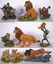 LOT OF 9 DISNEY THE LION KING FIGURES Simba Nala Scar Rafiki Pumbaa Cake Topper