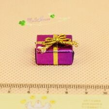 1:12 Dollhouse Christmas gift box