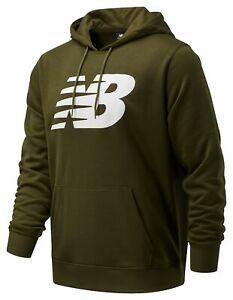 New Balance Men's Core Fleece Hoodie Green