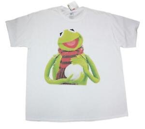 Kermit ( Size XL ) Snow Ball - Men's Muppets t shirts