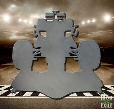 Race Car Metal Garage Wall Art Decor Sign Mancave Shop Racing Silhouette