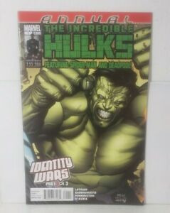 Incredible Hulks Annual 1 (2011 MARVEL)[1ST APPEAR OF GHOST SPIDER] FULL SET NM+
