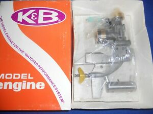 K&B 7.5 SS Gold Edition Outboard Engine for RC Outboard Tunnel Boat Rare Edition