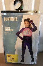 Fortnite Brite Bomber Halloween Costume Child Size Large L 12-14 - NEW