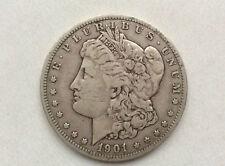 1901-O Morgan Silver Dollar U.S. Coin A0127