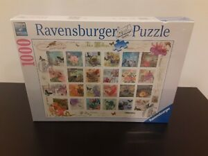 VINTAGE POSTAGE Finchley Paper Arts 1000 pcs Ravensburger 2015 New in Box Sealed