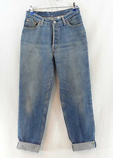"""Vtg LEVI'S 501 High Waist Mom Jeans Tapered Sz 13 Made in USA for Mexico 30""""x30"""""""